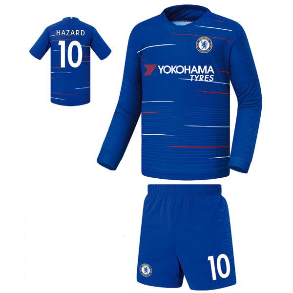 첼시 홈형 18-19 축구유니폼 셋트 [풀마킹/번호/이니셜] FS8331