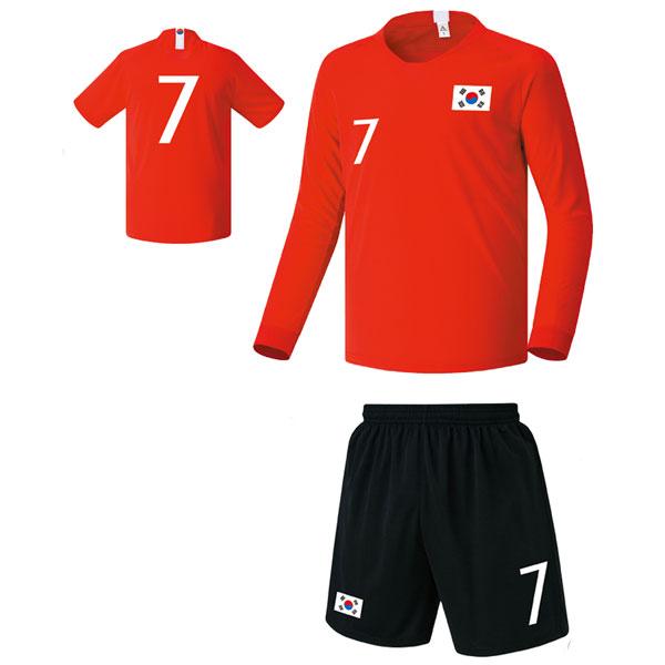 대한민국 홈형 18-19 축구유니폼 셋트 [풀마킹/번호/이니셜] FS8345
