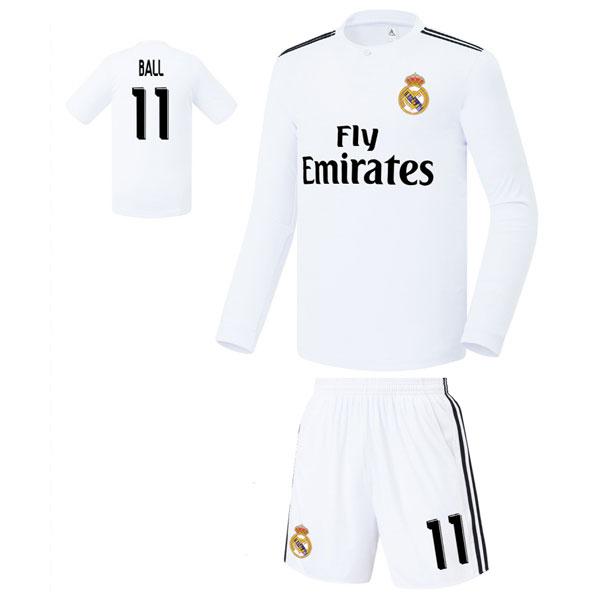 레알마드리드 홈형 18-19 축구유니폼 셋트 [풀마킹/번호/이니셜] FS8362