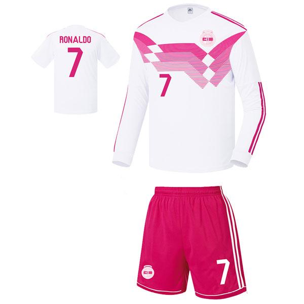 레알마드리드 커스텀 17-18 축구유니폼 셋트 [풀마킹/번호/이니셜] FS8365