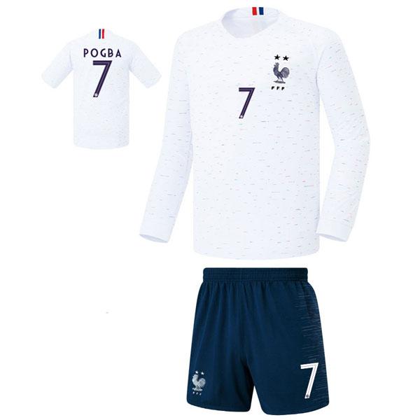 프랑스 어웨이형 18-19 축구유니폼 셋트 [풀마킹/번호/이니셜] FS8372