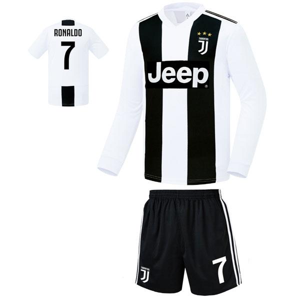 유벤투스 홈형 18-19 축구유니폼 셋트 [풀마킹/번호/이니셜] FS8422