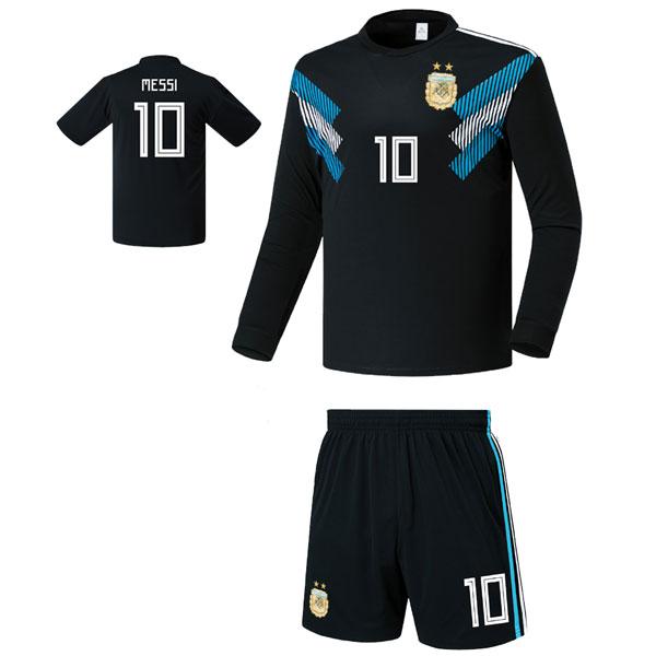 아르헨티나 어웨이형 18-19 축구유니폼 셋트 [풀마킹/번호/이니셜] FS8423