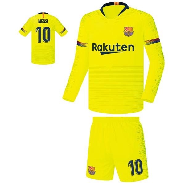 바르셀로나 어웨이형 18-19 축구유니폼 셋트 [풀마킹/번호/이니셜] FS8457