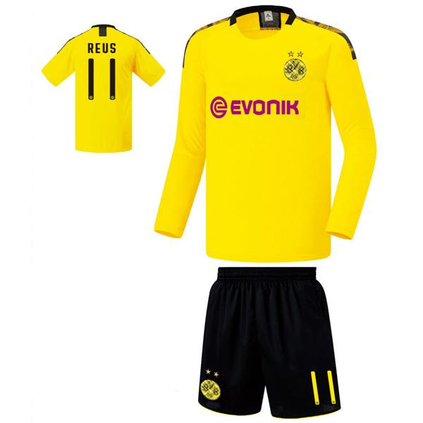 도르트문트 홈형 19-20 축구유니폼 셋트 [풀마킹/번호/이니셜] FS9267