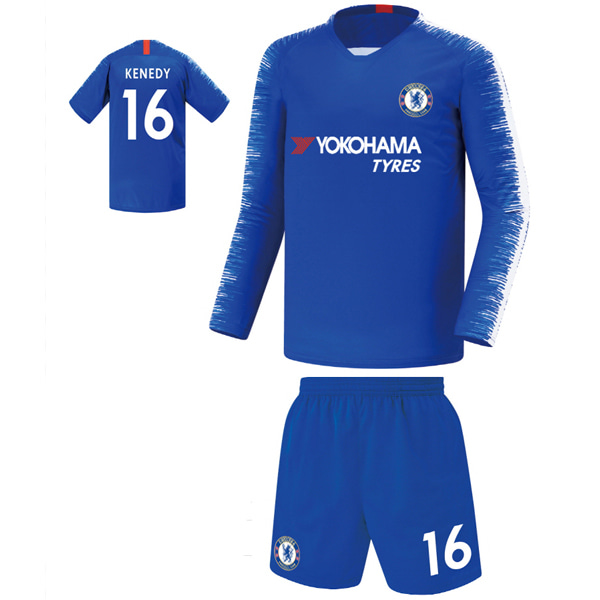 첼시 져지형 19-20 축구유니폼 셋트 [풀마킹/번호/이니셜] FS9321