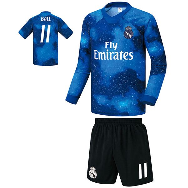 레알마드리드 져지형 18-19 축구유니폼 셋트 [풀마킹/번호/이니셜] FS9361