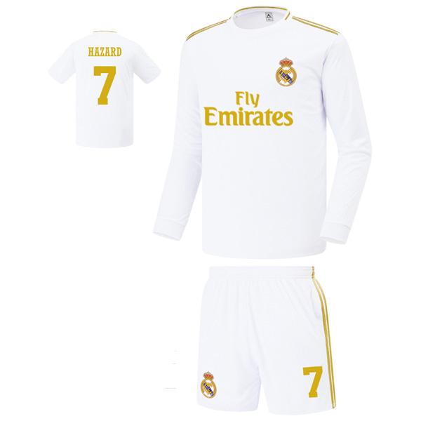 레알마드리드 홈형 19-20 축구유니폼 셋트 [풀마킹/번호/이니셜] FS9362
