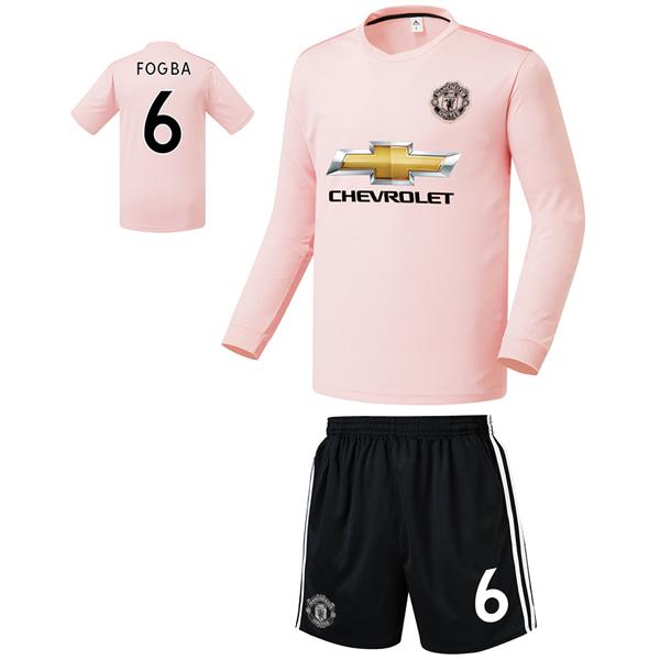 맨유 어웨이형 18-19 축구유니폼 셋트 [풀마킹/번호/이니셜] FS9405