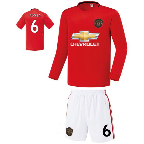 맨유 홈형 19-20 축구유니폼 셋트 [풀마킹/번호/이니셜] FS9415