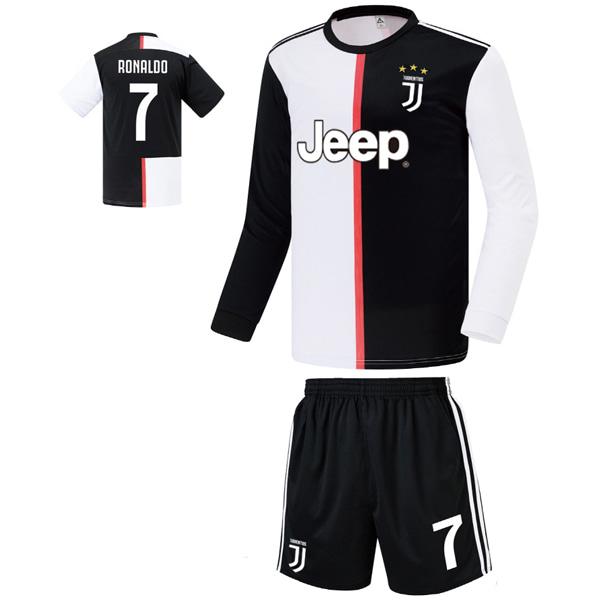 유벤투스 홈형 19-20 축구유니폼 셋트 [풀마킹/번호/이니셜] FS9422