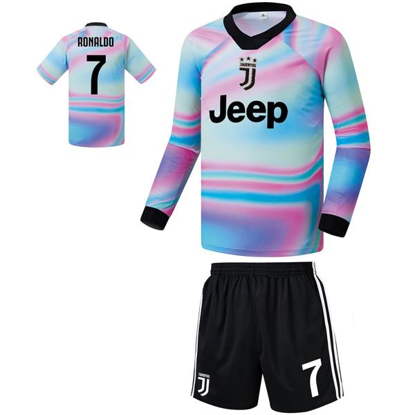 유벤투스 져지형 18-19 축구유니폼 셋트 [풀마킹/번호/이니셜] FS9428