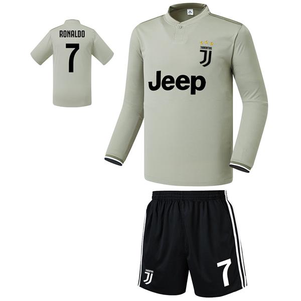유벤투스 어웨이형 18-19 축구유니폼 셋트 [풀마킹/번호/이니셜] FS9429