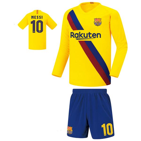 바르셀로나 어웨이형 19-20 축구유니폼 셋트 [풀마킹/번호/이니셜] FS9457