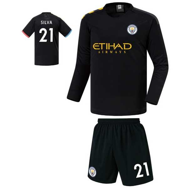 맨시티 어웨이형 19-20 축구유니폼 셋트 [풀마킹/번호/이니셜] FS9463