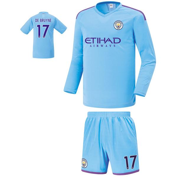 맨시티 홈형 19-20 축구유니폼 셋트 [풀마킹/번호/이니셜] FS9466_1