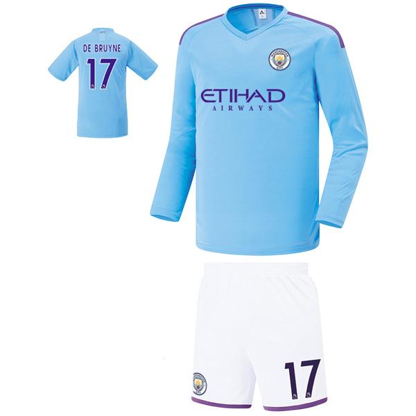 맨시티 홈형 19-20 축구유니폼 셋트 [풀마킹/번호/이니셜] FS9466
