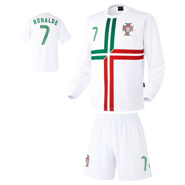 포르투갈 어웨이형 축구유니폼 셋트 [풀마킹/번호/이니셜] HTT1057