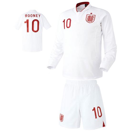 잉글랜드 홈형 축구유니폼 셋트 [풀마킹/번호/이니셜] HTT153