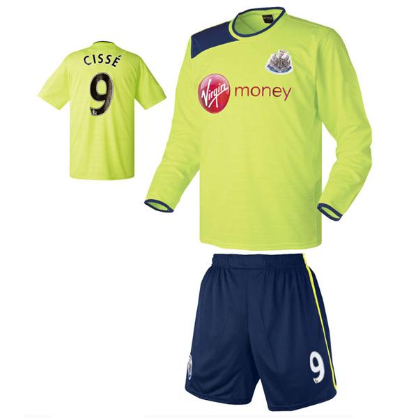 뉴캐슬 써드형 12-13 축구유니폼 셋트 [풀마킹/번호/이니셜] HTT248