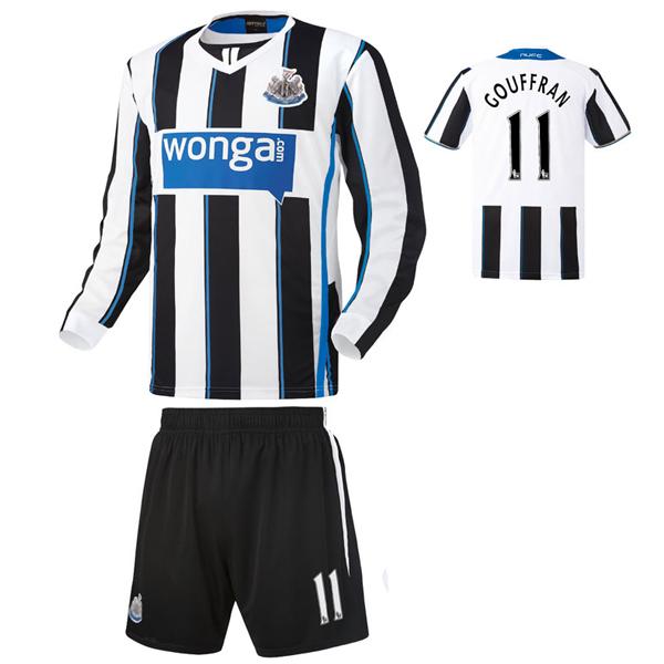 뉴캐슬 홈형 13-14 축구유니폼 셋트 [풀마킹/번호/이니셜] HTT251