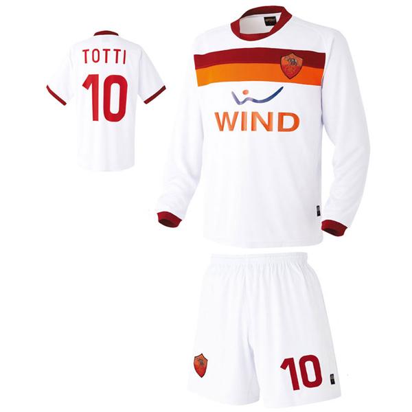 AS로마 어웨이형 축구유니폼 셋트 [풀마킹/번호/이니셜] HTT316