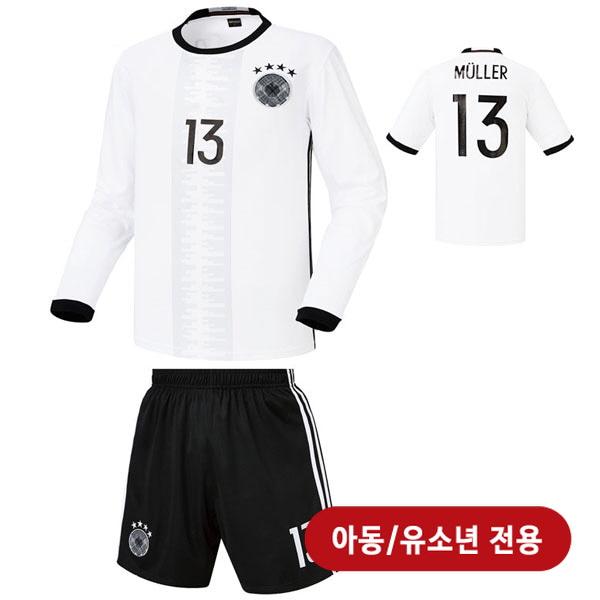 독일 홈형  16-17 축구유니폼 셋트 [풀마킹/번호/이니셜] <BR>★아동/유소년용★<BR>HTT35