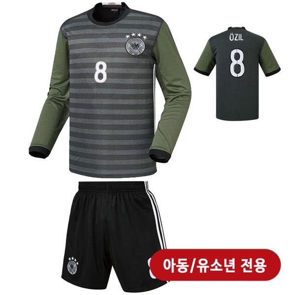 독일 어웨이형 16-17 축구유니폼 셋트 [풀마킹/번호/이니셜] <BR>★아동/유소년용★<BR>HTT36-1