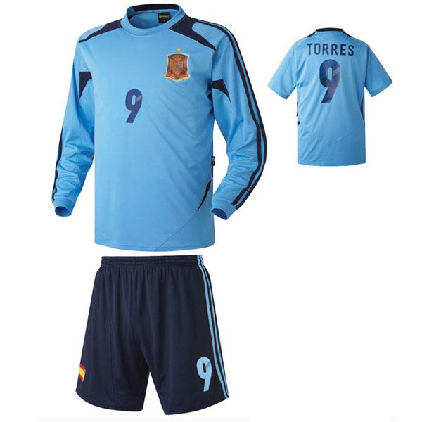 스페인 져지형 축구유니폼 셋트 [풀마킹/번호/이니셜] HTT394