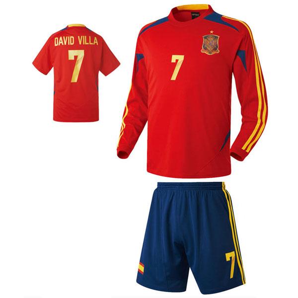 스페인 져지형 축구유니폼 셋트 [풀마킹/번호/이니셜] HTT395