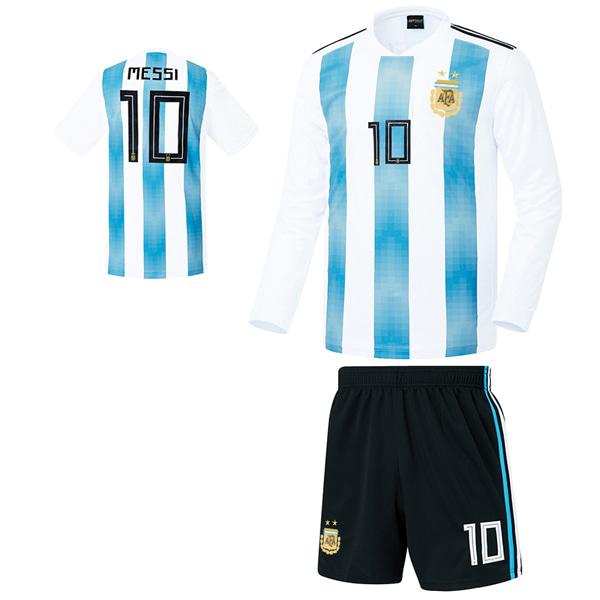 아르헨티나 홈형 17-18 [풀마킹/번호/이니셜] 기능성원단 HTT486