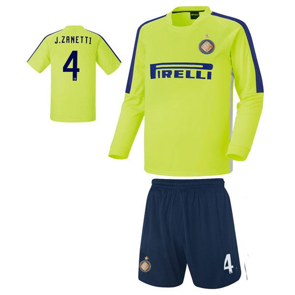 인터밀란 져지형 14-15 축구유니폼 셋트 [풀마킹/번호/이니셜] 기능성원단 HTT597