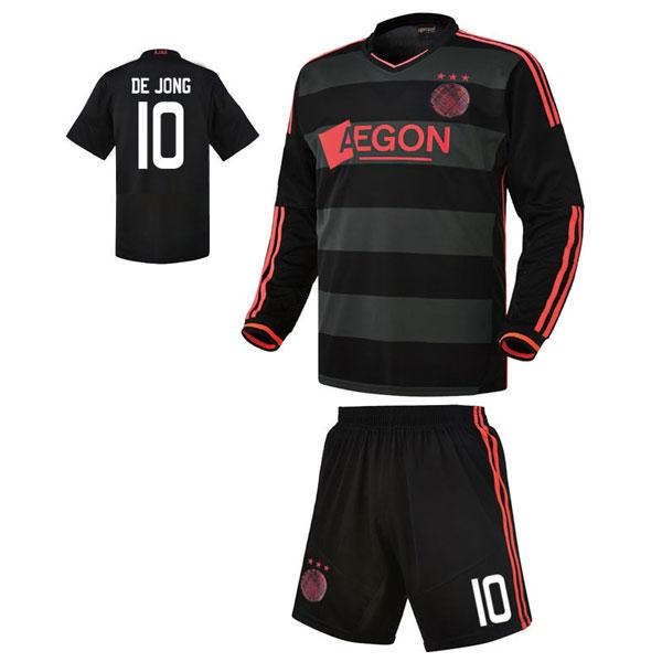 아약스 어웨이형 13-14 축구유니폼 셋트 [풀마킹/번호/이니셜] HTT740