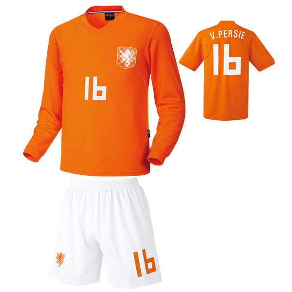 네덜란드 홈형 14-15 축구유니폼 셋트 [풀마킹/번호/이니셜] HTT765