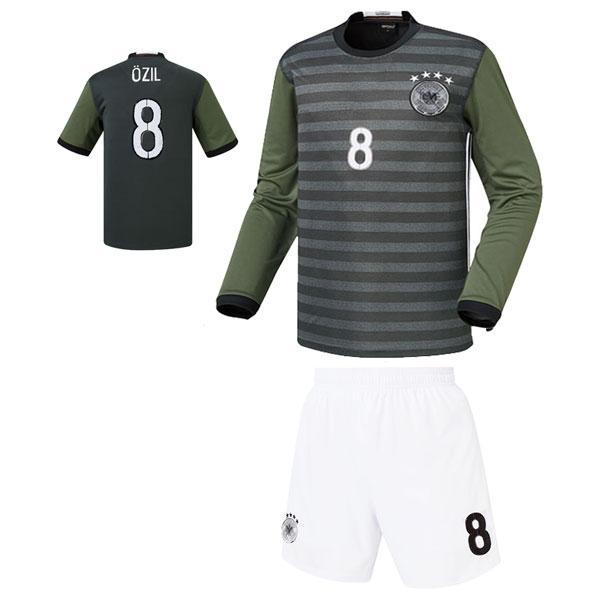 독일 어웨이형 16-17 축구유니폼 셋트 [풀마킹/번호/이니셜] 기능성원단 HTT775