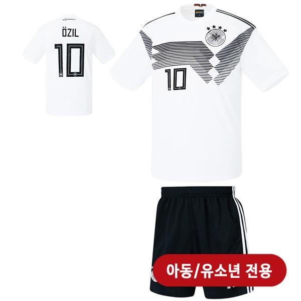 독일 홈형  17-18 축구유니폼 셋트 [풀마킹/번호/이니셜] <BR>★아동/유소년용★<BR>HTT77