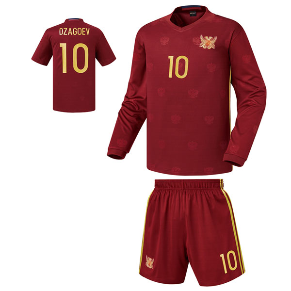 러시아 홈 16-17 축구유니폼 셋트 [풀마킹/번호/이니셜] 기능성원단 HTT830