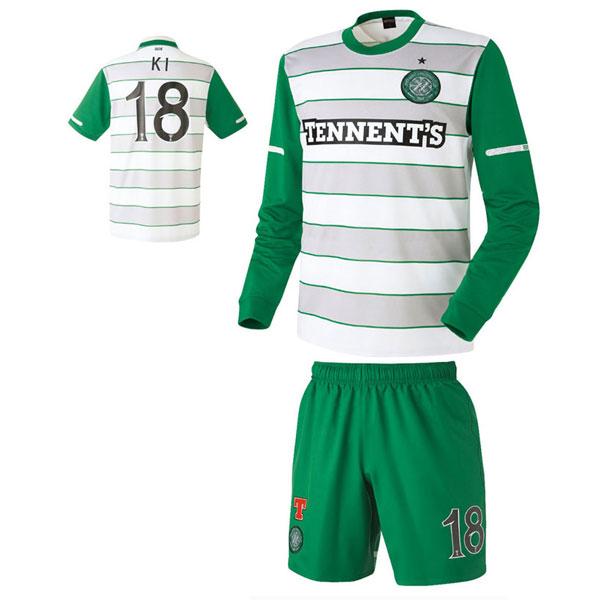 셀틱 어웨이형 축구유니폼 셋트 [풀마킹/번호/이니셜] HTT859