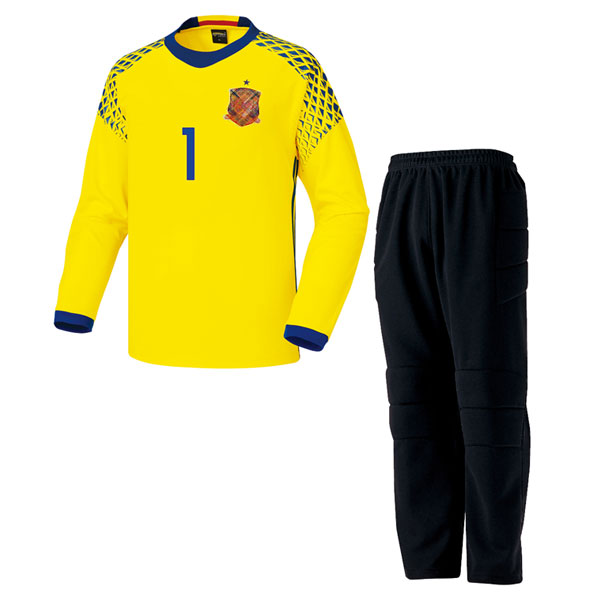 스페인 형 16-17 GK 골키퍼복 [풀마킹/번호/이니셜] HTT904