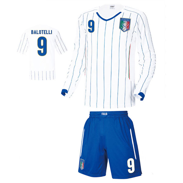 이탈리아 어웨이형 14-15 축구유니폼 셋트 [풀마킹/번호/이니셜] LX104b