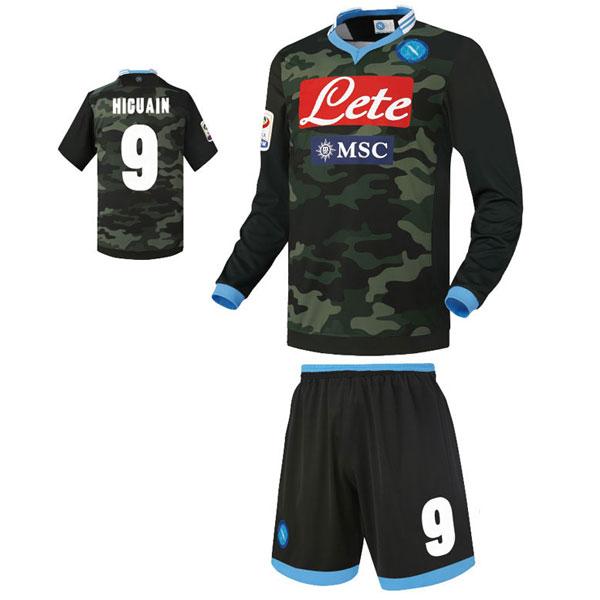 SSC 나폴리 어웨이형 13-14 축구유니폼 셋트 [풀마킹/번호/이니셜] LX20b