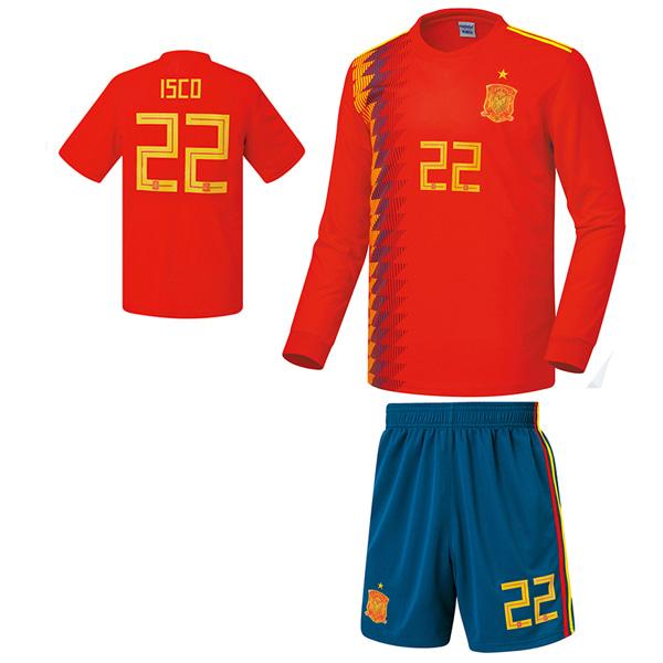스페인 홈형 17-18 [풀마킹/번호/이니셜] NTT214H