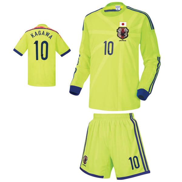일본 어웨이형 14-15 축구유니폼 셋트 [풀마킹/번호/이니셜] NTT231A
