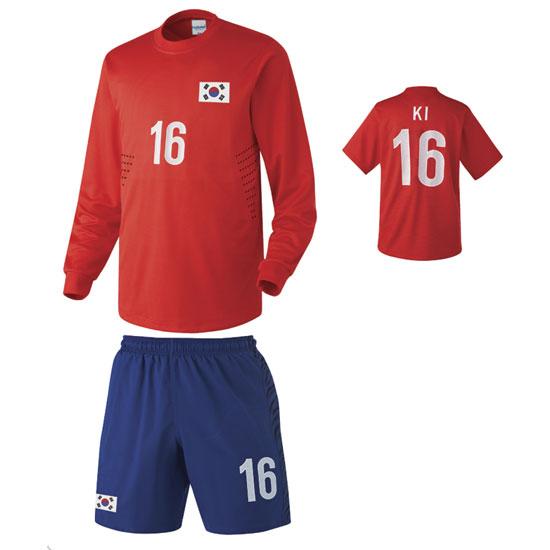 대한민국 홈형 12-13 축구유니폼 셋트 [풀마킹/번호/이니셜] NTT240H