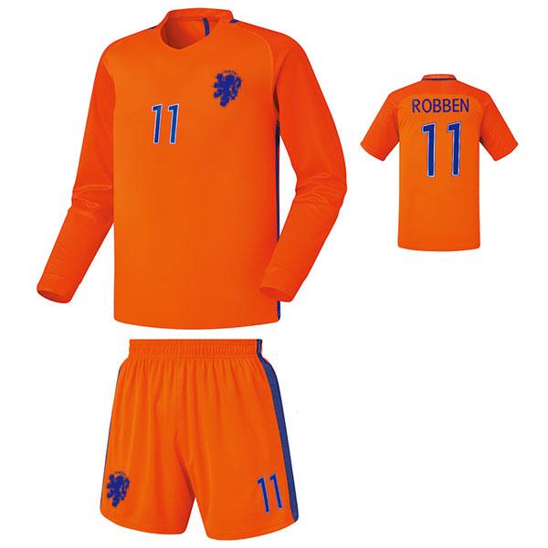 네덜란드 홈 16-17 [풀마킹/번호/이니셜] NTT253H