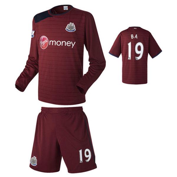 뉴캐슬 어웨이형 12-13 축구유니폼 셋트 [풀마킹/번호/이니셜] NTT430A