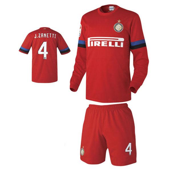 인터밀란 어웨이형 12-13 축구유니폼 셋트 [풀마킹/번호/이니셜] NTT450A