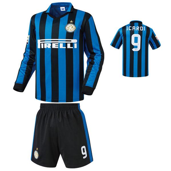 인터밀란 홈형 15-16 축구유니폼 셋트 [풀마킹/번호/이니셜] NTT453H