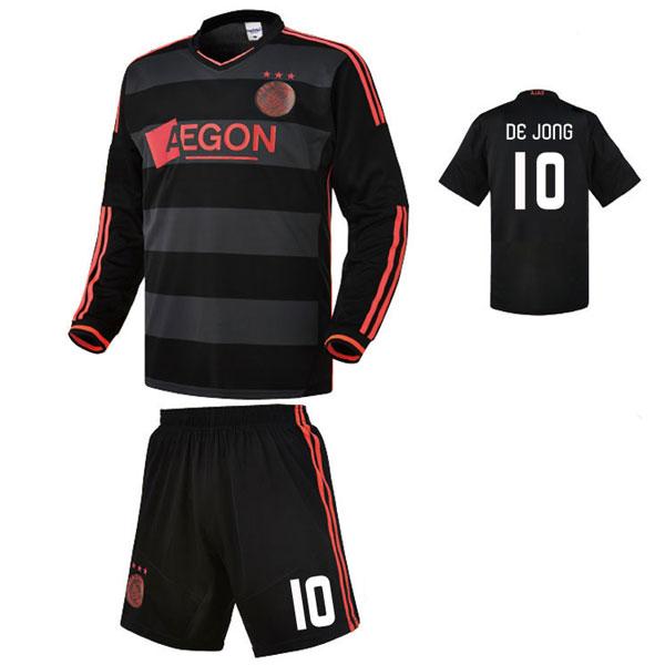 아약스 어웨이형 13-14 축구유니폼 셋트 [풀마킹/번호/이니셜] NTT550A