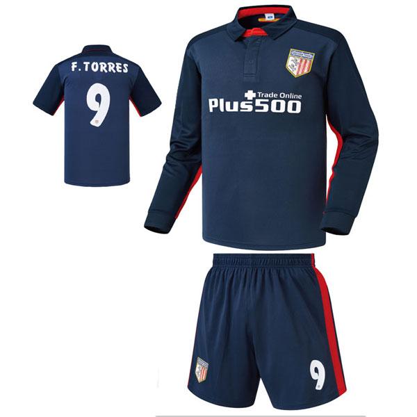 아틀레티코 마드리드 어웨이형 15-16 축구유니폼 셋트 [풀마킹/번호/이니셜] NTT801A